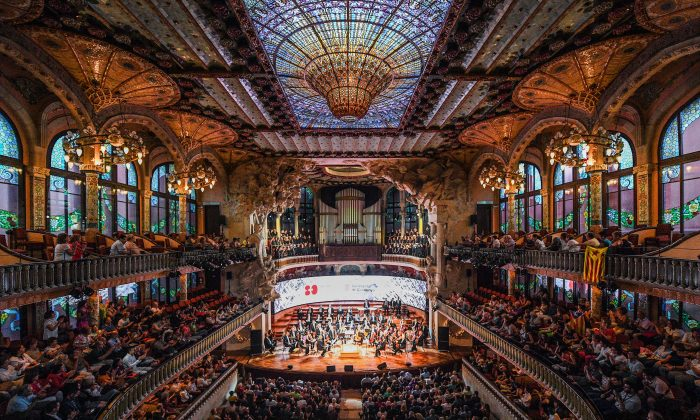A concert at El Palau de la Musica in Barcelona, Spain, on July 18, 2016. (David Ramos/Getty Images)