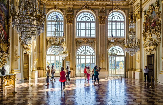 Inside the Nymphenburg castle in Munich, Germany. (Trabantos/Shutterstock)