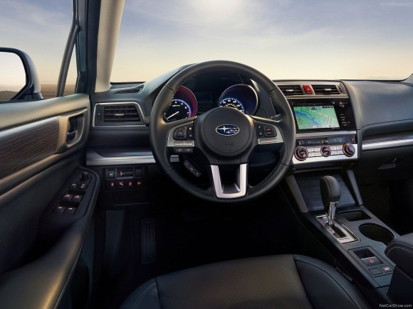 The interior of the 2017 Legacy. (Courtesy of NetCarShow.com)