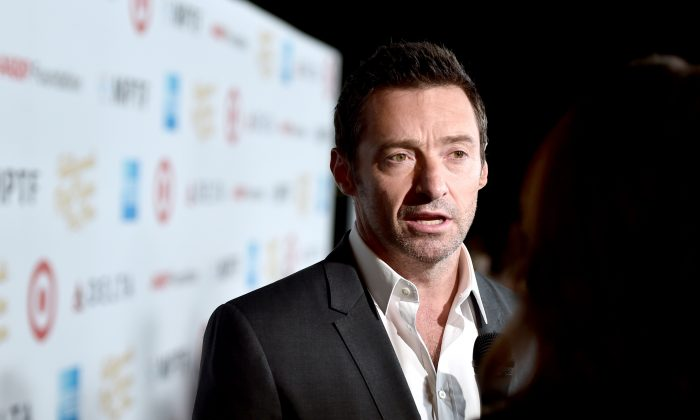"LOS ANGELES, CA - OCTOBER 01:  Actor Hugh Jackman attends the MPTF 95th anniversary celebration with ""Hollywood's Night Under The Stars"" at MPTF Wasserman Campus on October 1, 2016 in Los Angeles, California.  (Photo by Alberto E. Rodriguez/Getty Images for MPTF)"