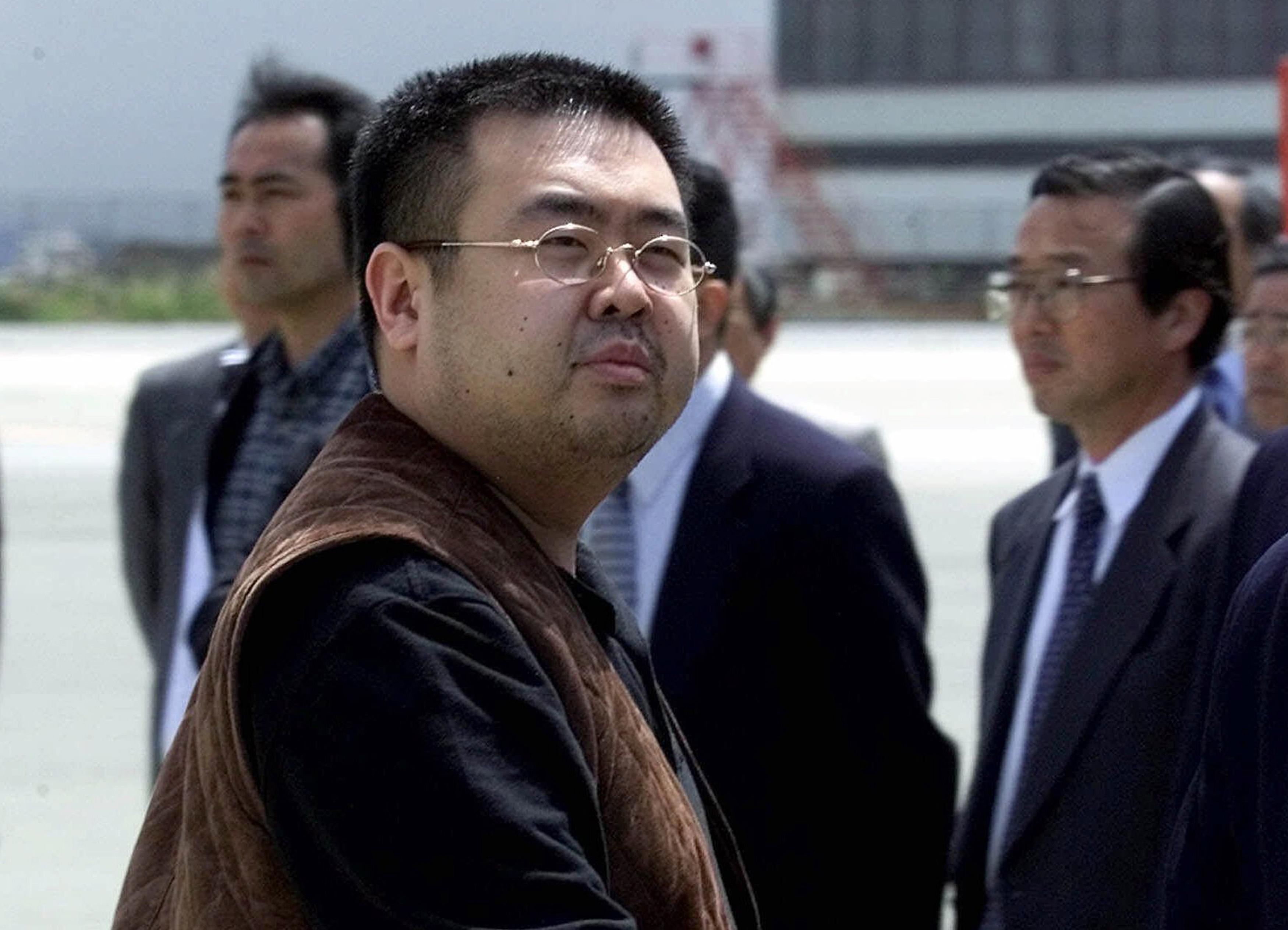 A man believed to be Kim Jong Nam, the eldest son of then North Korean leader Kim Jong Il. (AP Photo/Shizuo Kambayashi, File)