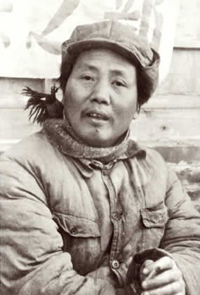 Mao Zedong in Yan'an in the 1930s. (Creative Commons/Wikimedia)