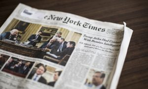 Trump Responds to New York Times Claim of Russia Conspiracy