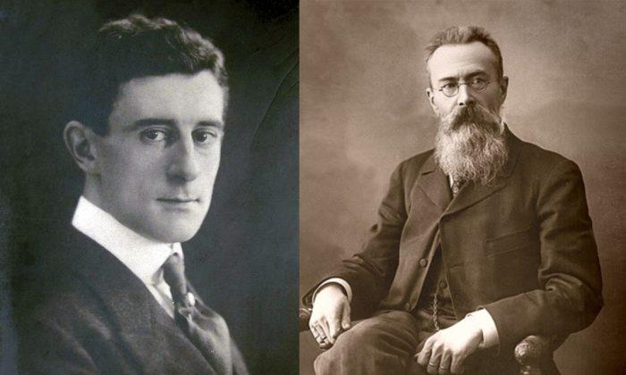 Otkrytoe Pismo  Moris Ravel Postcard-1910