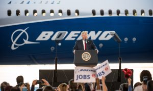 Trump Talks Jobs and Jets in Speech at Boeing Factory