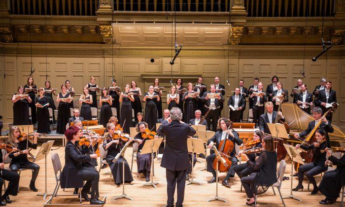 Handel and Haydn Society. (Chris Lee)