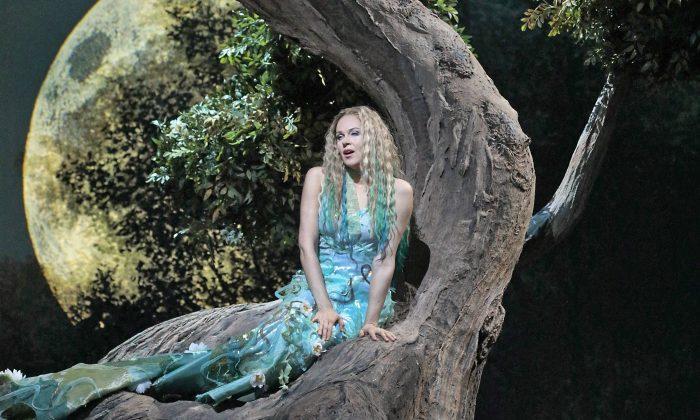 "Kristine Opolais in the title role of Dvorak's ""Rusalka."" (Ken Howard/ Metropolitan Opera)"