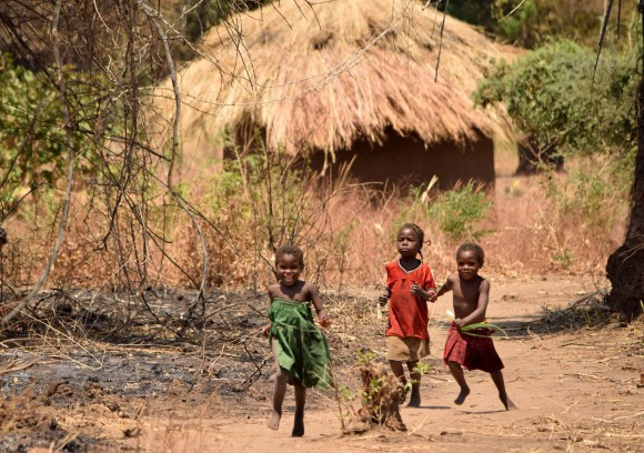 Children in Mfuwe, the largest village next to South Luangwa National Park.(Giannella M. Garrett)