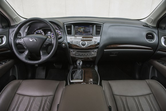 The interior of the QX60. (Courtesy of Infiniti)