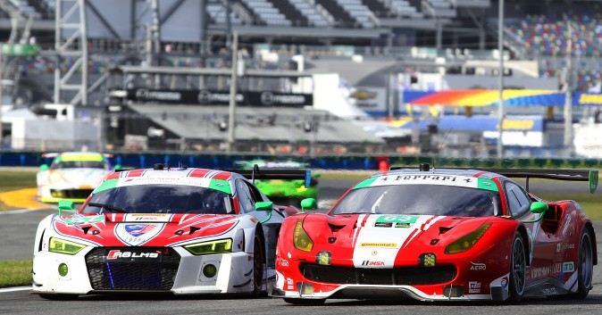 The GTD #63 Scuderia Corse Ferrari is another 2016 Sebring class winner which would love to make up for a less than stellar performance at the Rolex. (Chris Jasurek/Epoch Times)