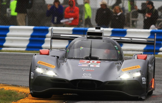 Marino Franchitti will be joining the driving crew of the #70 Mazda RT24 DPi for Sebring. (Chris Jasurek/Epoch Times)