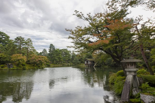 The Kenrokuen Garden in Kanazawa, considered one of Japan's most beautiful. (Annie Wu/Epoch Times)