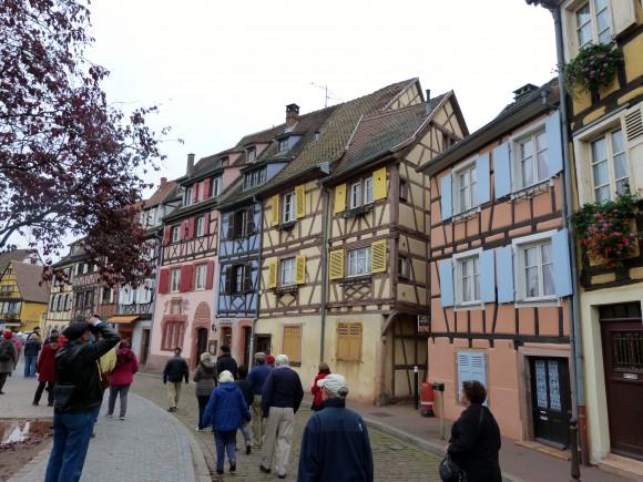 A street in Colmar. (Barbara Angelakis)
