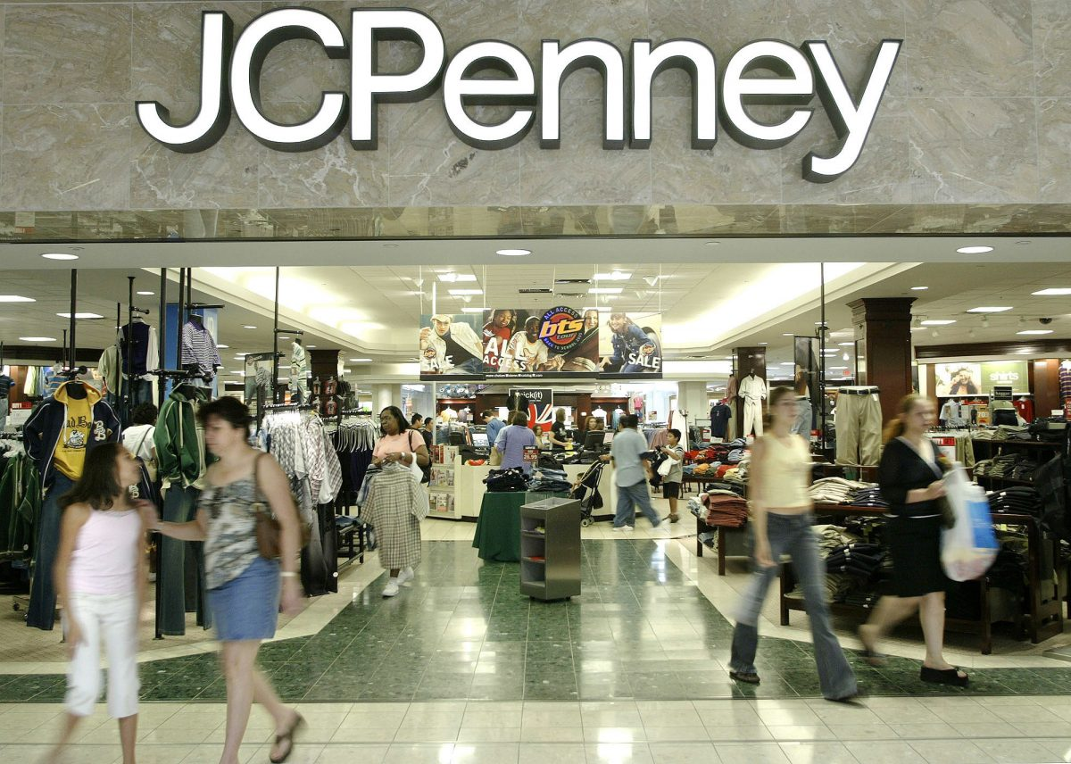 A J.C. Penny department store in Dallas.