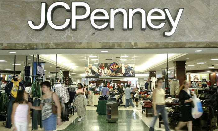 A  J.C. Penny department store in Dallas. (AP Photo/Matt Slocum)