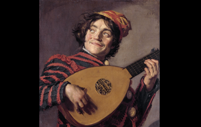 """The Lute Player"" by Frans Hals. (public domain)"