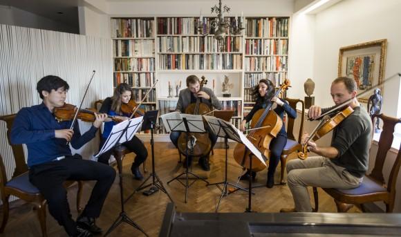 Manhattan Chamber Players at rehearsal. (Samira Bouaou/Epoch Times)