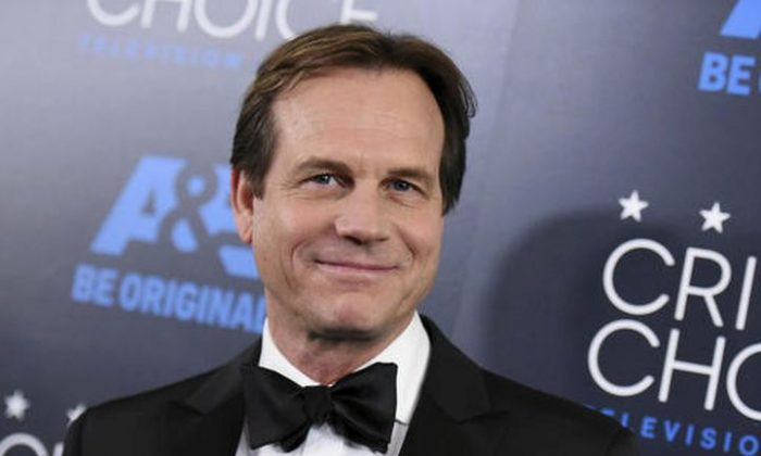 "In this May 31, 2015, file photo, Bill Paxton arrives at the Critics' Choice Television Awards at the Beverly Hilton hotel in Beverly Hills, Calif. A family representative said prolific and charismatic actor Paxton, who played an astronaut in ""Apollo 13"" and a treasure hunter in ""Titanic,"" died from complications due to surgery. The family representative issued a statement Sunday, Feb. 26, 2017, on the death. (Photo by Richard Shotwell/Invision/AP, File)"