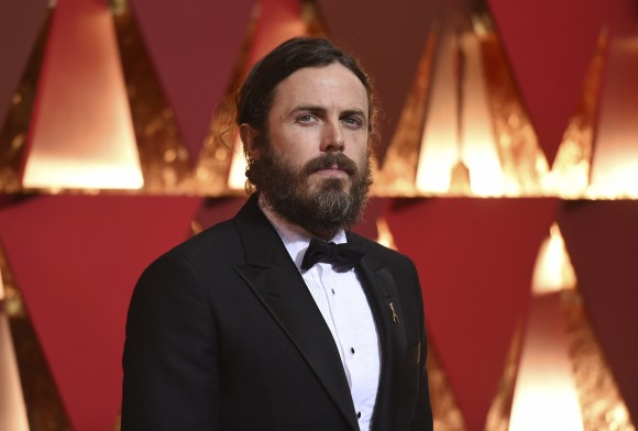 Casey Affleck arrives at the Oscars on Sunday, Feb. 26, 2017, at the Dolby Theatre in Los Angeles. (Photo by Richard Shotwell/Invision/AP)