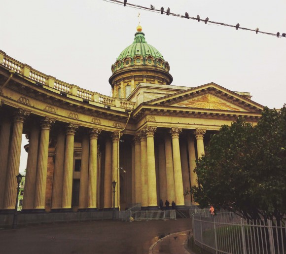 Kazan Cathedral, St Petersburg. (Vlatka Jovanovic)