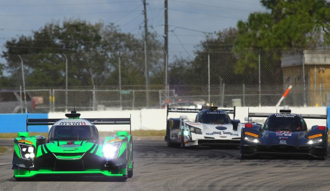 IMSA management has to make sure the various prototypes are actually on a level playing field. A the test the Cadillacs seemed to have an unconquerable edge in power and torque. (Chris Jasurek/Epoch Times)