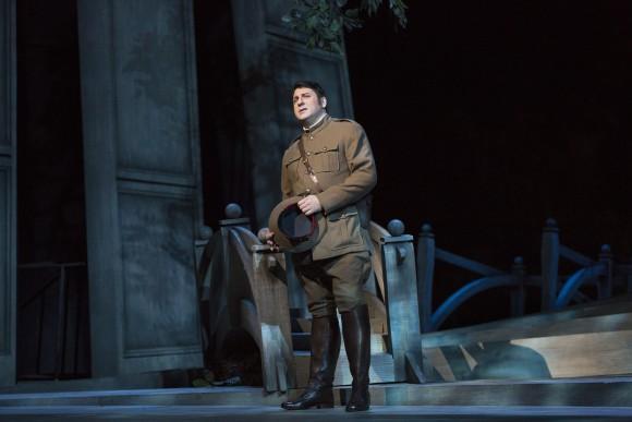 Bass David Bizic is a convincing, vocally suave Albert. (Marty Sohl/Metropolitan Opera)
