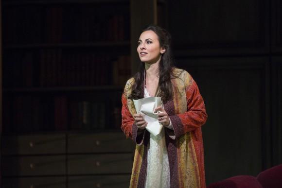 Veronica Simeoni, as Charlotte, makes an impressive debut at the Met. . (Marty Sohl/Metropolitan Opera)