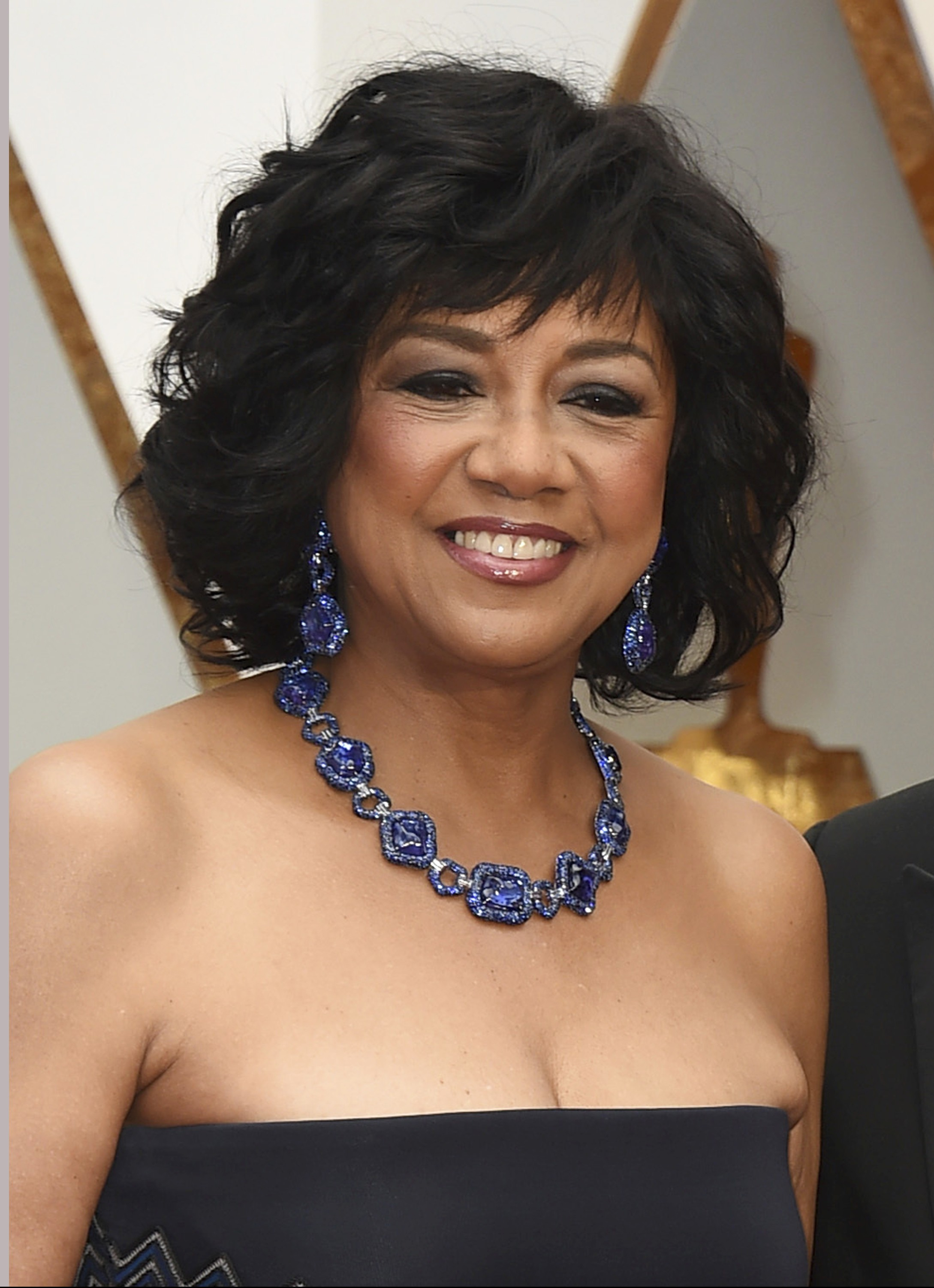 Cheryl Boone Isaacs arrives at the Oscars at the Dolby Theatre in Los Angeles on Feb. 26, 2017. Jordan Strauss/Invision/AP)