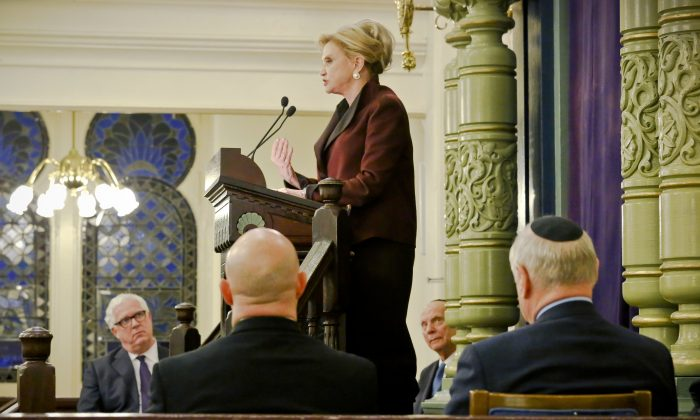 Congresswoman Carolyn Maloney on March 3, 2017. (Bebeto Matthews/AP Photo)