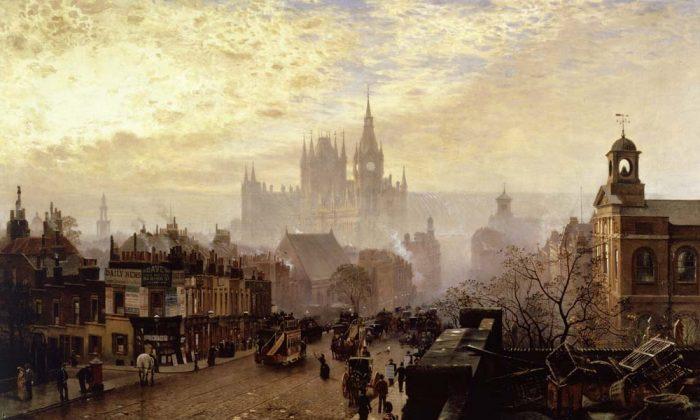 """Pentonville Road"" by John O'Connor. (public domain)"