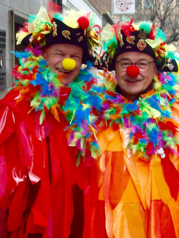 Colourful Carnival costumes. (Susan James)