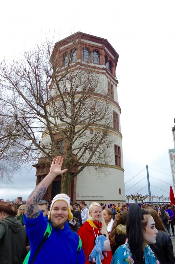 Schlossturm in Castle Square. (Susan James)