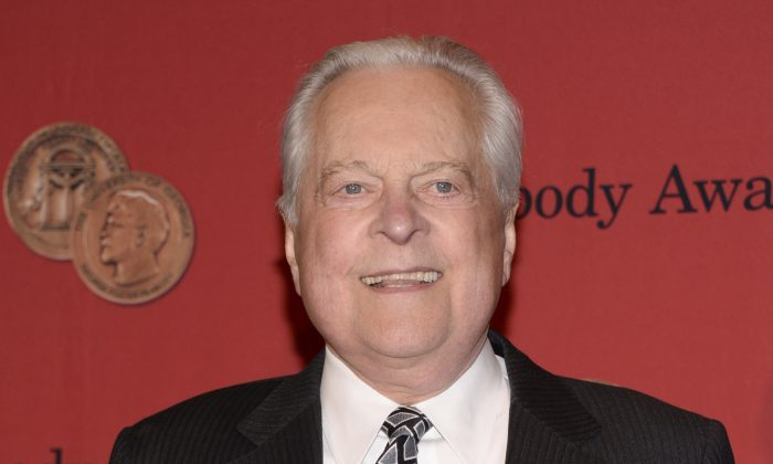 Robert Osborne attends the 73rd Annual George Foster Peabody Awards in New York on May 19, 2014. (Evan Agostini/Invision/AP)