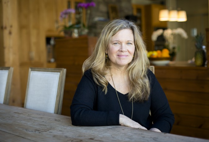 Carolyn Liot, clinical director of The Dunes, at the center in East Hampton, N.Y. (Samira Bouaou/Epoch Times)