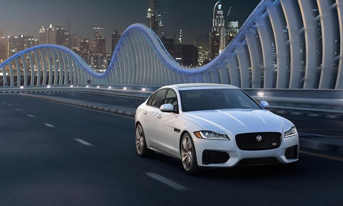 2017 Jaguar XF S. (Courtesy of Jaguar)