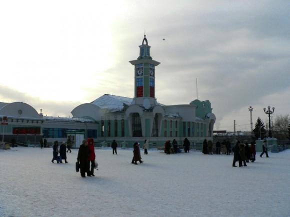 Novosibirsk-train-station. (vlatka Jovanovic)