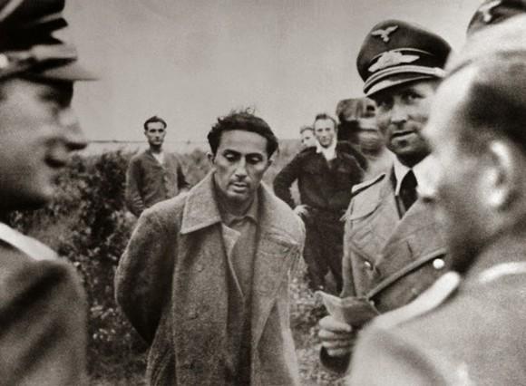 Stalin's son, Yakov Dzhugashvili captured by the Germans in 1941 (public domain)