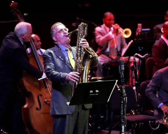 """Joe Temperley has been called, """"Scotland's greatest jazz musician"""" and first achieved prominence in the United Kingdom as a member of Humphrey Lyttelton's band from 1958 to 1965. ( )"""