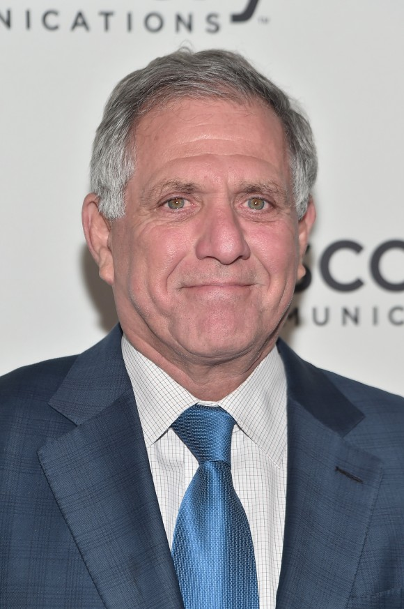 """CEO of CBS Corp. Les Moonves attends the Natural Resources Defense Council's """"NRDC's Night of Comedy"""" Benefit with Seth Meyers, John Oliver, George Lopez, Mike Birbiglia and Hasan Minhaj in New York City on Nov. 9, 2016. (Mike Coppola/Getty Images for The Natural Resources Defense Council)"""