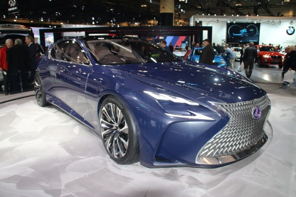 Lexus LF-FC (Courtesy of David Taylor)
