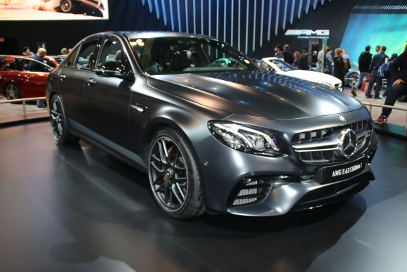 Mercedes AMG E63 S 4Motion (Courtesy of David Taylor)