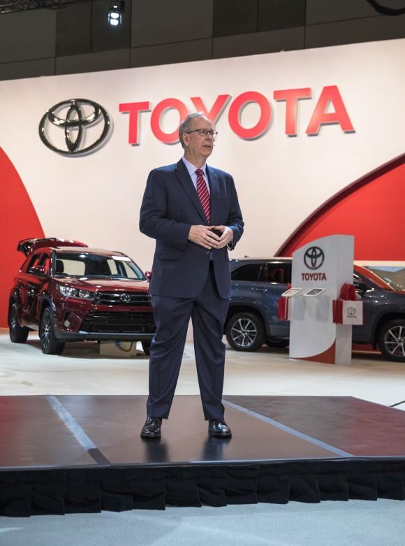 Stephen Beatty - Toyota Canada Inc. (Courtesy of Toyota Canada Inc.)