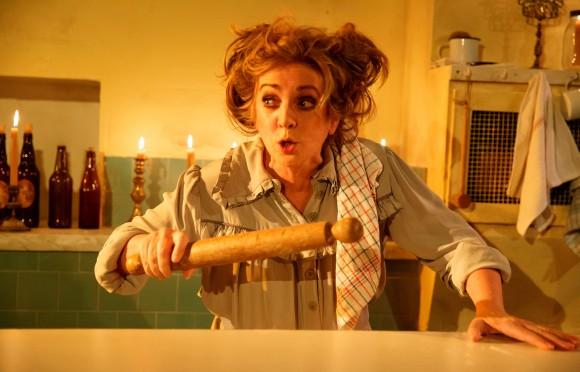 "Mrs. Lovett (Siobhan McCarthy) makes ""the worst pies in London."