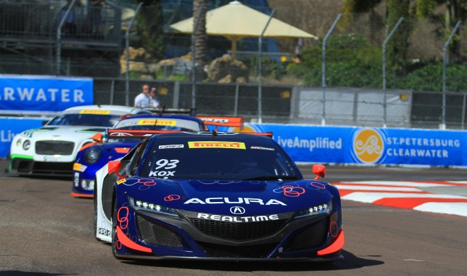 Pirelli World Challenge is bringing its brand of high-intensity GT action to St. Pete, offering up four races throughout the weekend. (Chris Jasurek/Epoch Times)