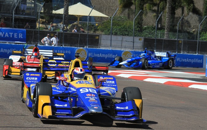2016 Indy 500 winner Alexander Rossi has stayed with Andretti Autosport for 2017. (Chris Jasurek/Epoch Times)