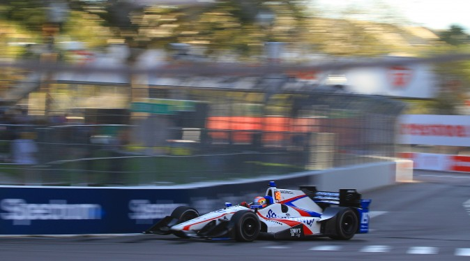 2106 Indy Lights champion Ed Jones is driving the #19 Dale Coyne car at St. Pete. (Chris Jasurek/Epoch Times)