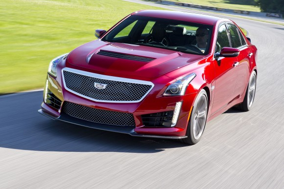 Cadillac CTS-V Sedan (Courtesy of General Motors)