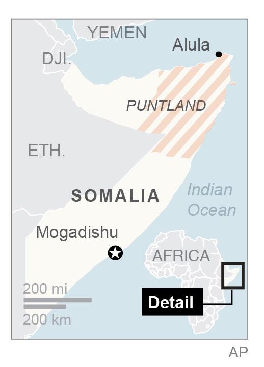 Pirates hijack freighter off Somalia's coast. (Via AP)