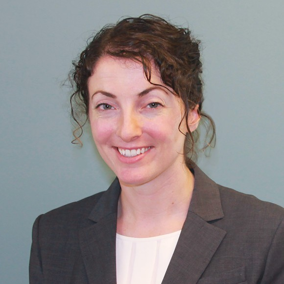 Sarah Pierce, associate policy analyst, Migration Policy Institute. (Courtesy of MPI)