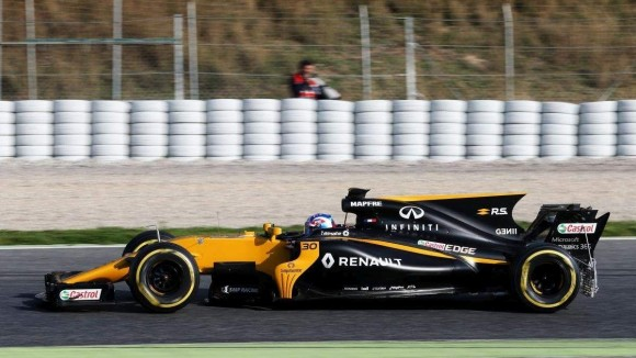Infiniti 2017 Formula 1 car (Courtesy of Infiniti)